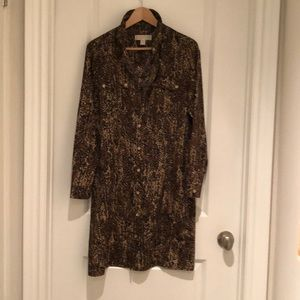 Michael Kors Shirt Dress - Size 8